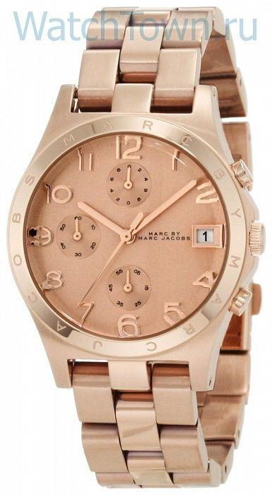 Женские наручные часы MARC JACOBS MBM3074 в Москве. Купить американские часы MARC JACOBS MBM3074 (кварцевые) в интернет-магазине