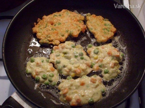 Zeleninové rezne s cesnakovou smotanou - Recept
