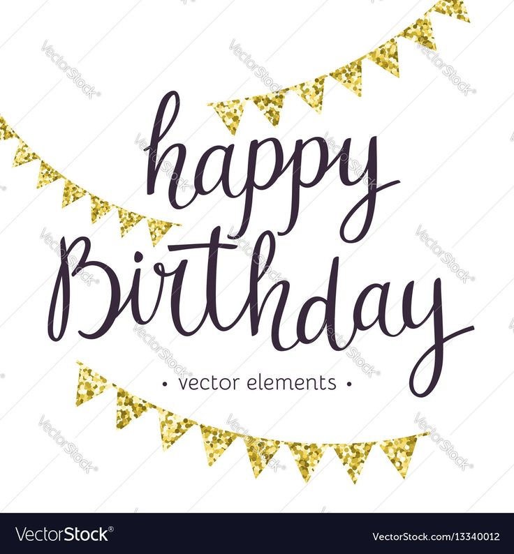 54 best anniversaire images on pinterest birthdays handmade modern hand drawn lettering happy birthday handwritten inscriptions for layout and template vector illustration bookmarktalkfo Choice Image