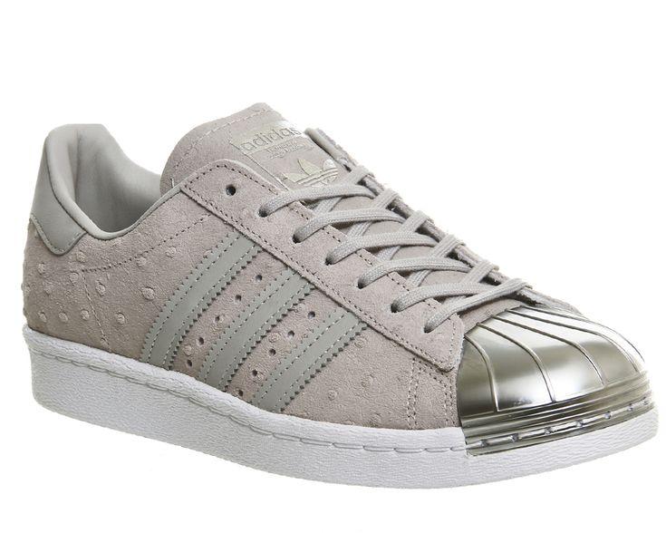 adidas Superstar Metal Toe W Schuhe grey\u0026