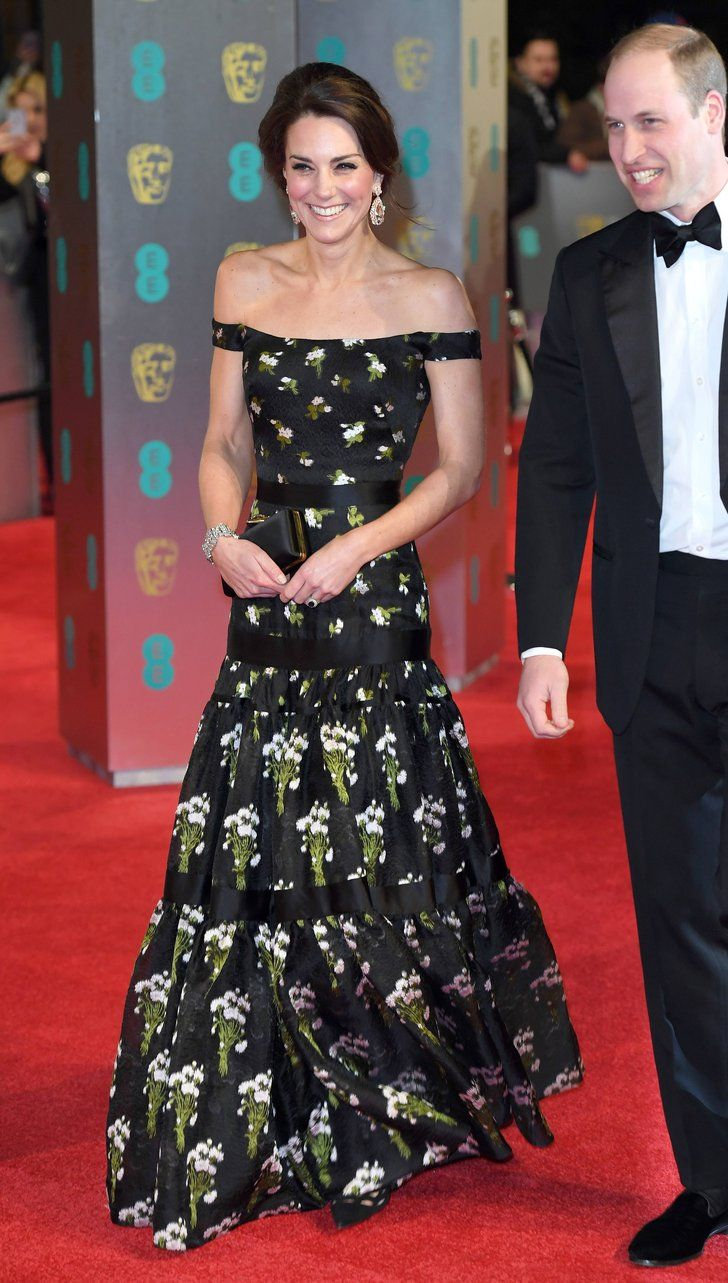 There S A Good Reason The Duchess Of Cambridge Did Not Wear Black To The Bafta Awards Kate Middleton Outfits Kate Middleton Style Fashion