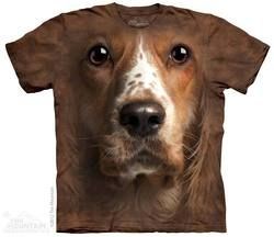 Welsh Springer Spaniel Face T-Shirt
