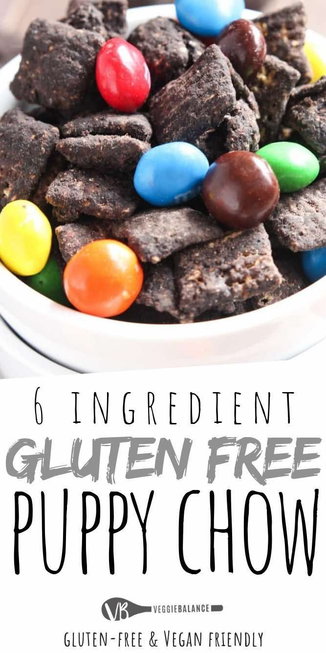 Gluten Free Puppy Chow recipe, 6-Ingredients, No one will notice that it has a h…
