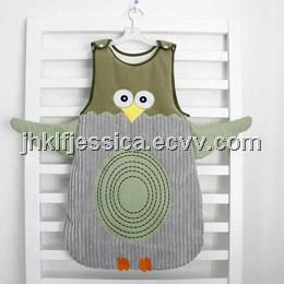baby sleeping bag with various applique (owl sleeping bag) - China baby sleeping bag, ben ben dou