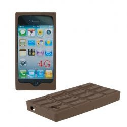 Chocolate Silicone Case Cover Skin for 4G