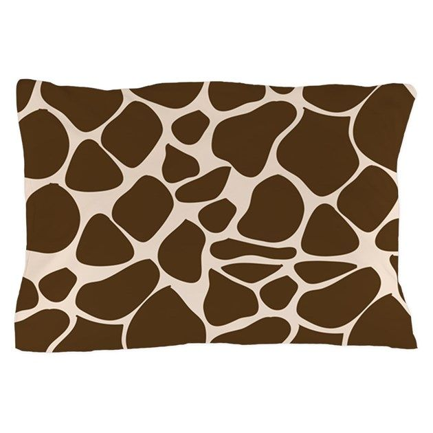 Giraffe Print Animal Pattern Pillow Case By Jess Pillowcase Pattern Pillow Pattern Giraffe Print