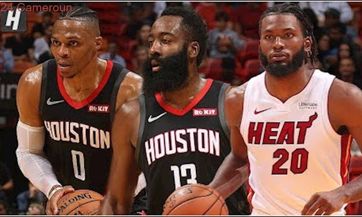 Houston Rockets vs Miami Heat – Full Game Highlights | October 18, 2019 NBA Pres… – Vidéo
