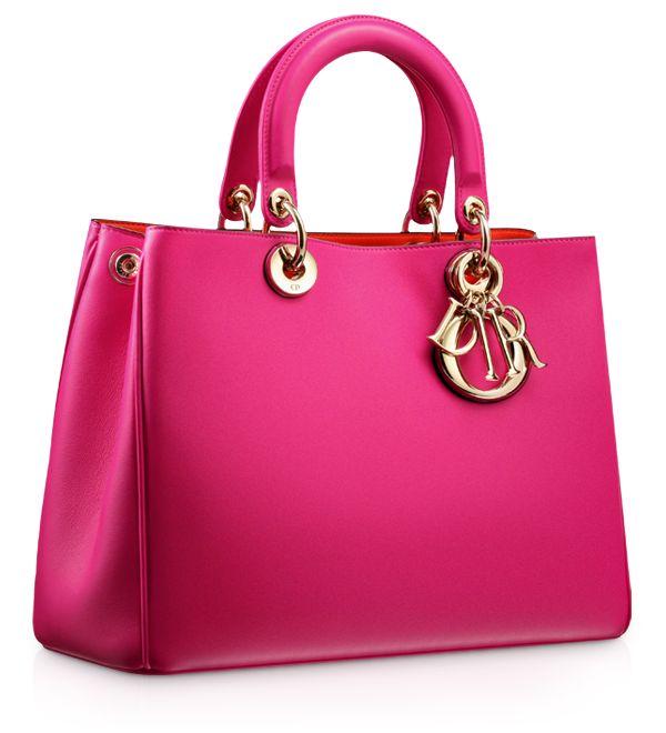 DIORISSIMO - Rose Royale leather 'Diorissimo' bag