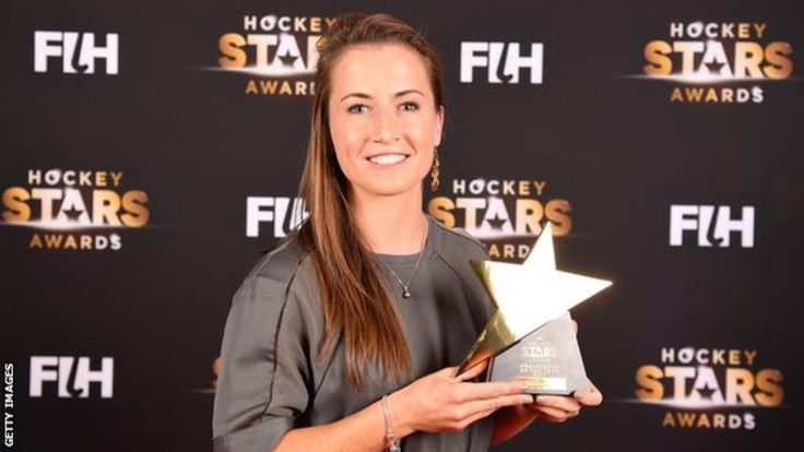 Maddie Hinch, the England and Great Britain hockey goalkeeper, has been named Female Goalkeeper of the Year for the second successive year at the FIH Hockey Stars Awards in Berlin. Hinch won Olympic gold with Team GB at Rio 2016.