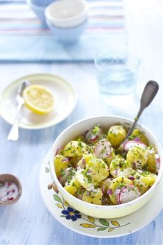 HAPPY LIVING - Зимние салаты и домашний майонез Картофельный салат по-индийски