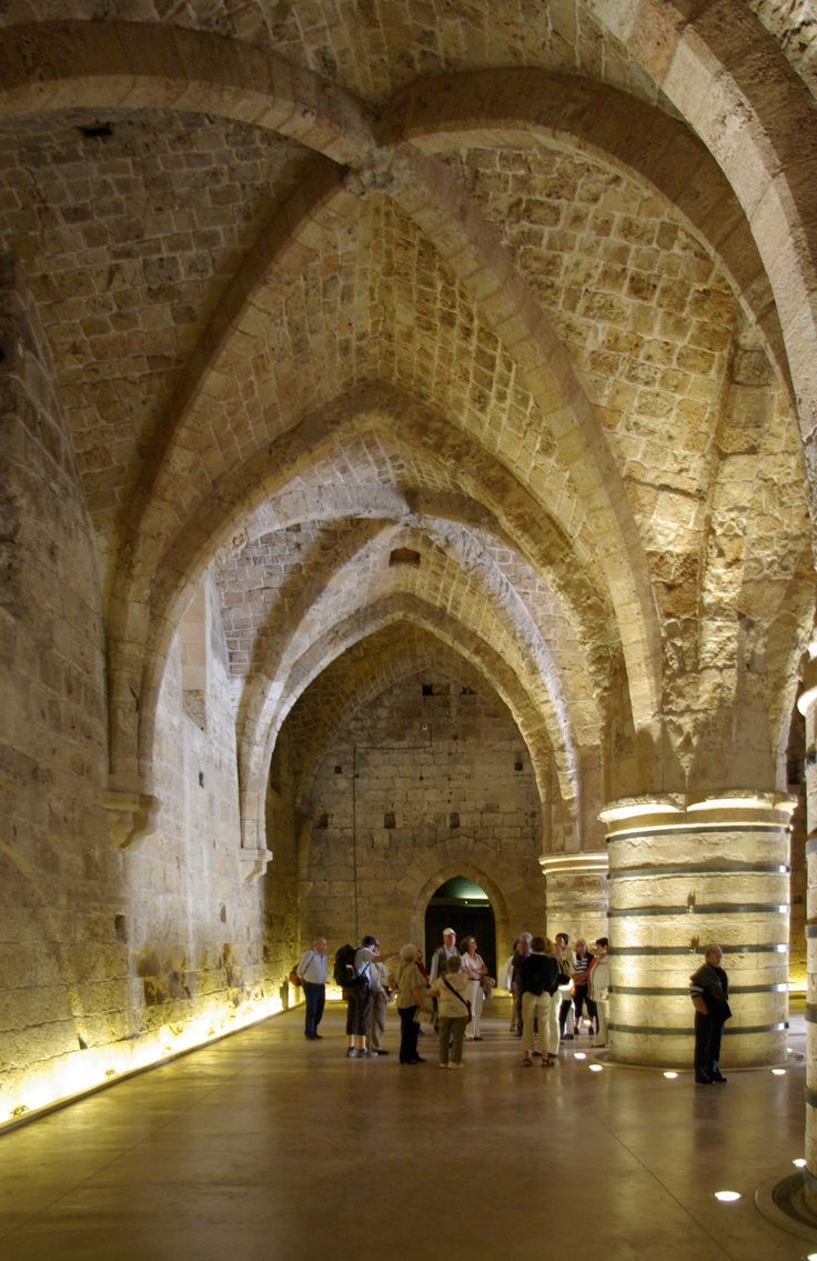 The Tunnels of the Knights Templar in Akko