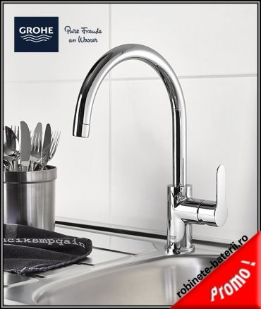 Baterie bucatarie Grohe Bauedge,