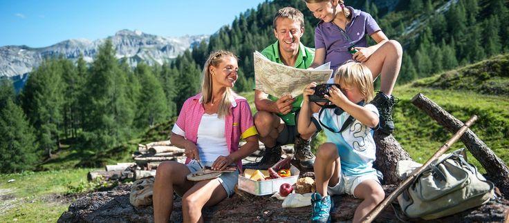 Altenmarkt-Zauchensee Familie Wanderkarte Wandern Natur