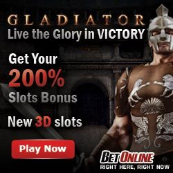 200% Slots Bonus at BetOnline