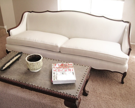 Contemporary Antique Reupholstered Settee Design, Pictures, Remodel, Decor and Ideas - page 3