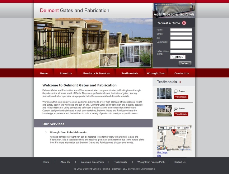 Delmont Gates and Fabrication