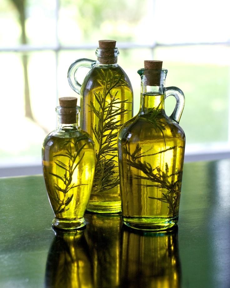 Rosemary infused olive oil | Gift ideas | Pinterest