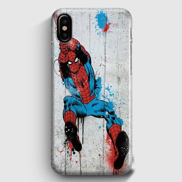 spiderman iphone xs max case