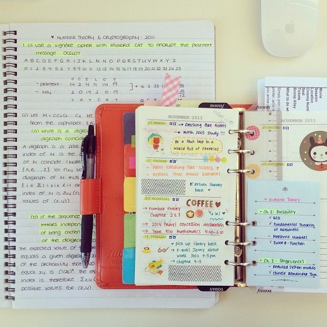 .Those are some super neat notes. My notes are all over the place and so colorful that they hurt my eyes.