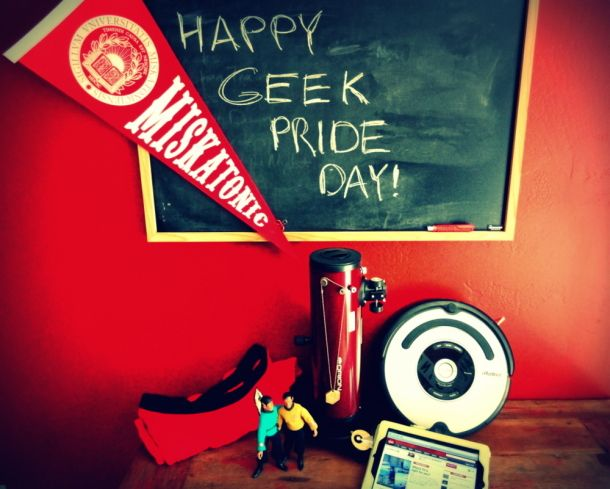Celebrate Geek Pride Day today!
