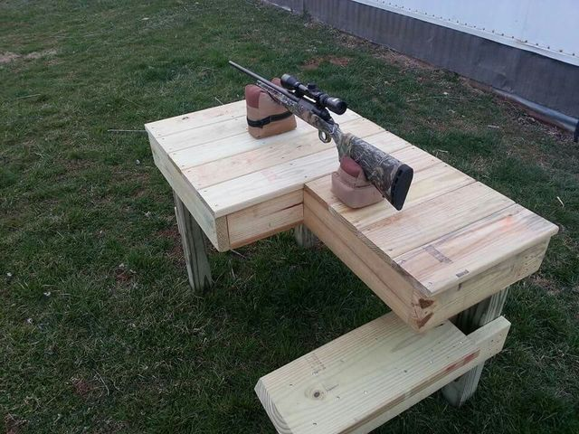 20 best home made shooting bench images on Pinterest ...