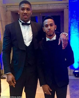 Anthony Joshua, Lewis Hamilton, others attend Laureus World Sports Awards (photos) - http://www.thelivefeeds.com/anthony-joshua-lewis-hamilton-others-attend-laureus-world-sports-awards-photos/