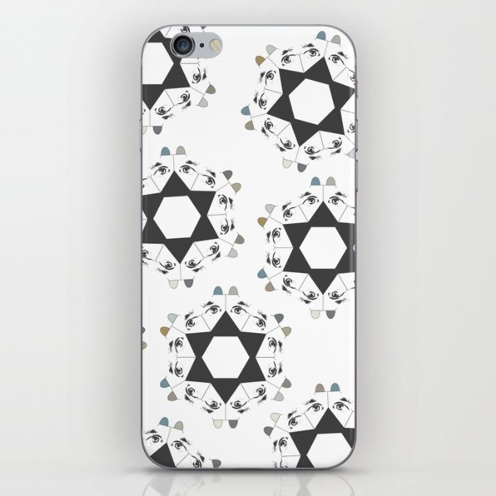 Geometric dogs _ iPhone & iPod Skin. Designed by @Kunda. #iphonecase #ipodskin #geometric #geometry #dogs #starshaped