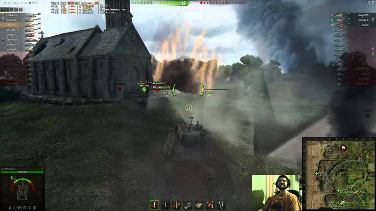 World of Tanks / Strange funny corruption
