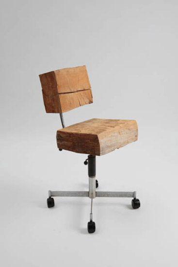 "William Stone  Vested Interests, 2009  Modified furniture  22"" x 20"" x 35"""