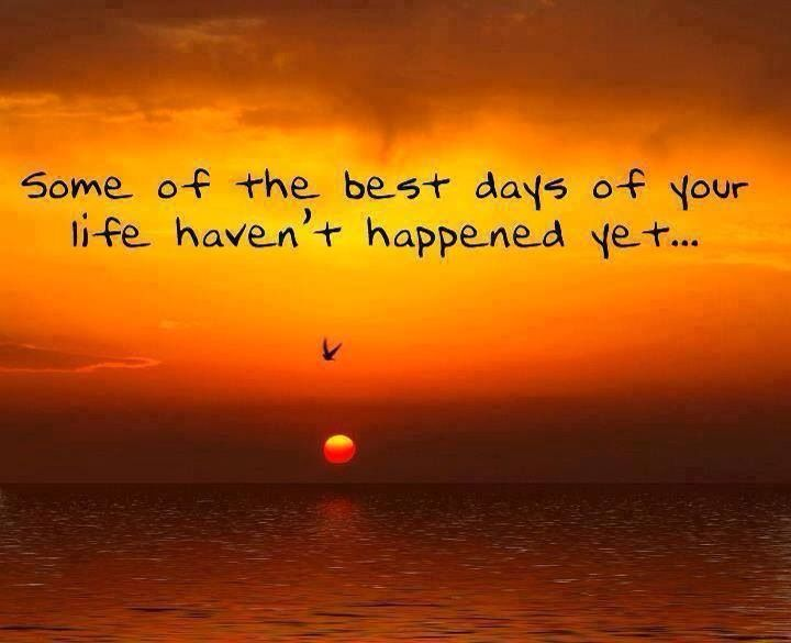 Some of your best days...