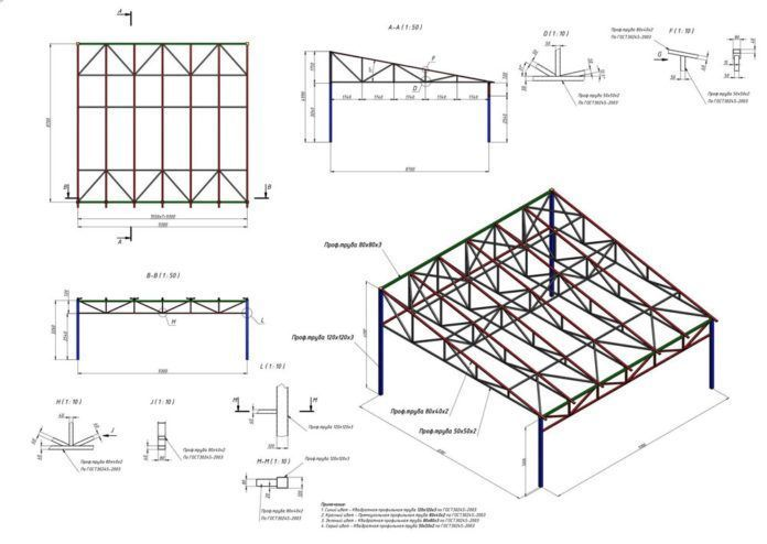 Drawing For Shed Roof Drawing Roof Truss Design Shed Roof Roof Design
