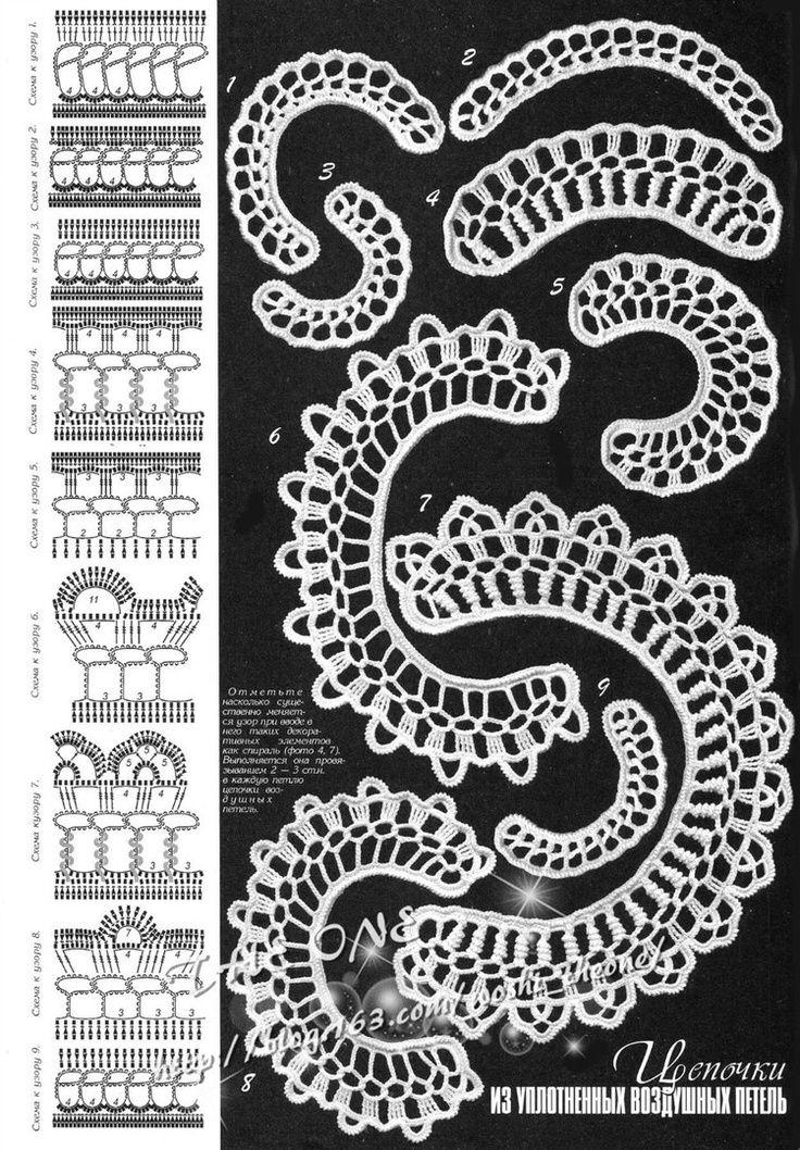 irish crochet motif charts | ... tons of irish lace motif charts and joing methods, and trims, blocks