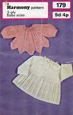Vintage knitting pattern in 3ply for sale in my eBay shop dollie.daydreams