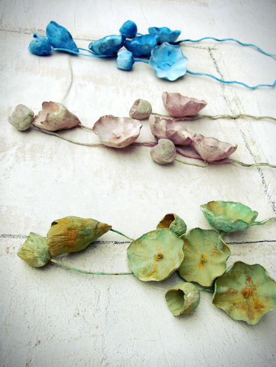 paper jewelry-paper jewel-handmade-collane di carta-eco gioielli-statement-Italy by Alessandra Fabre Repetto