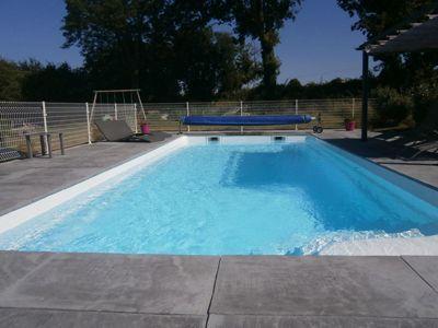 Une des piscines du Village de gîtes à vendre à Saint-Viaud en Loire-Atlantique