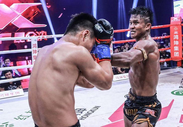 Muay Thai star Buakaw Banchamek headlines kickboxing event Kunlun Fight held on November 11, 2017 in Paris, France.