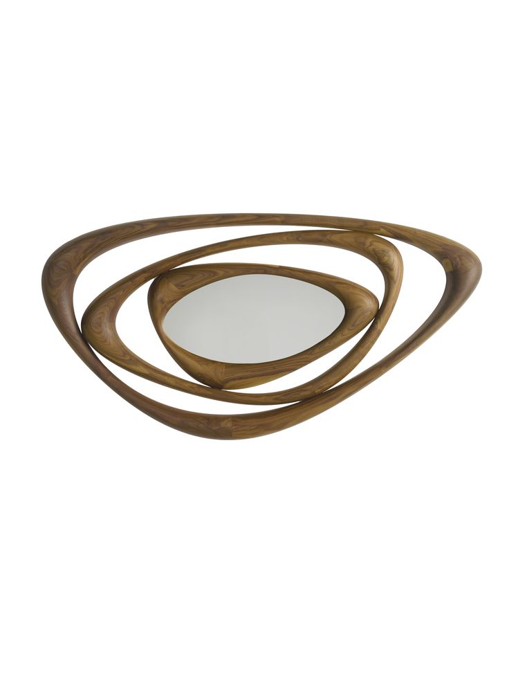 Buy Casiopea Mirror by Camus  by Collective Form - Made-to-Order designer Accessories from Dering Hall's collection of Contemporary Mirrors.