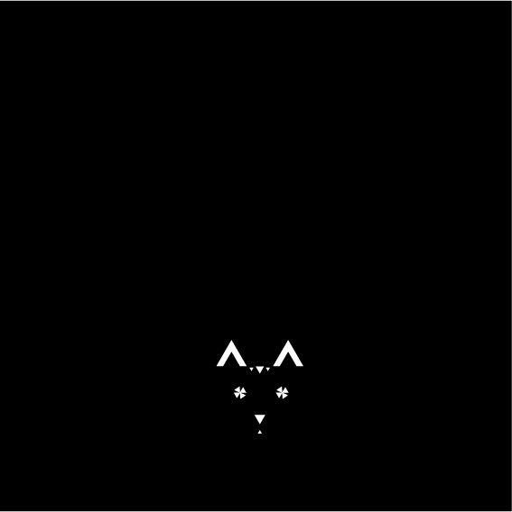 365 triangoli - 1forday #triangle #365 triangoli #geometric #graphic #bw #cat  #die