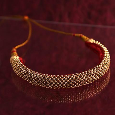 Thushi - Traditional Maharashtrian jewellery