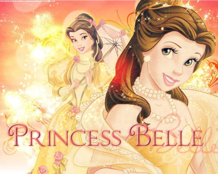 Day 2: Favorite Disney Princess: Belle