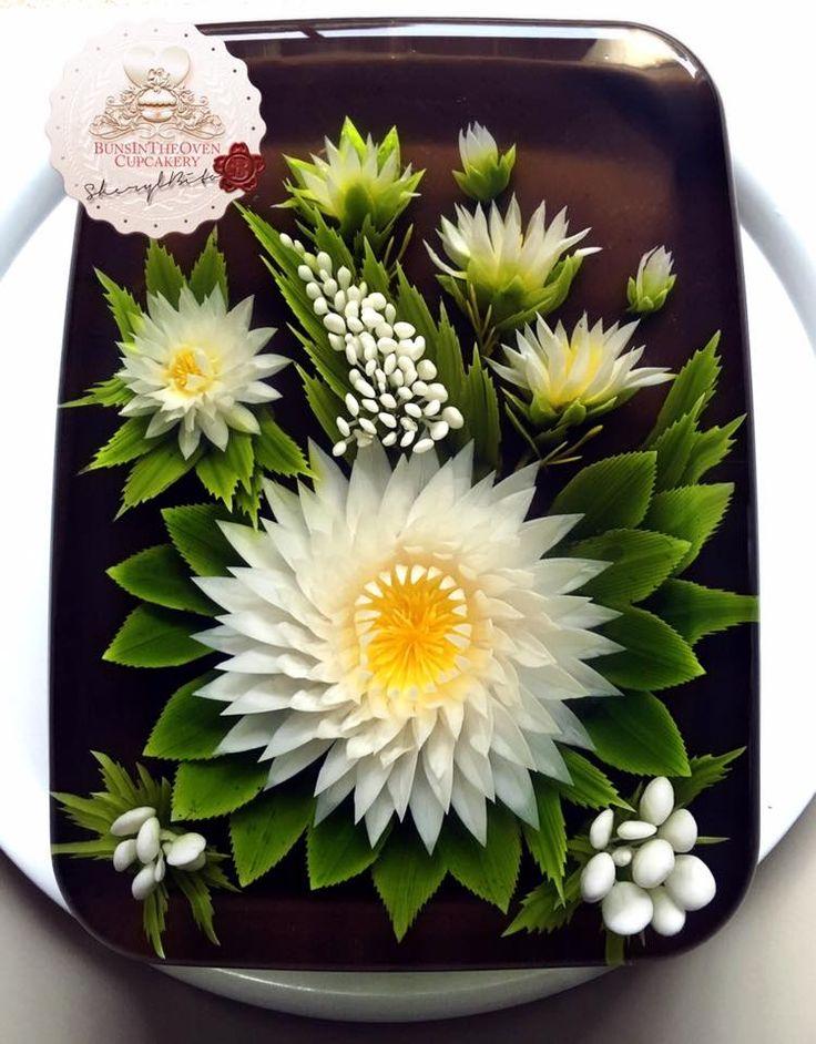 3D Jelly Flowers Cake | Sheryl Bito BunsInTheOven Cupcakery Malaysia