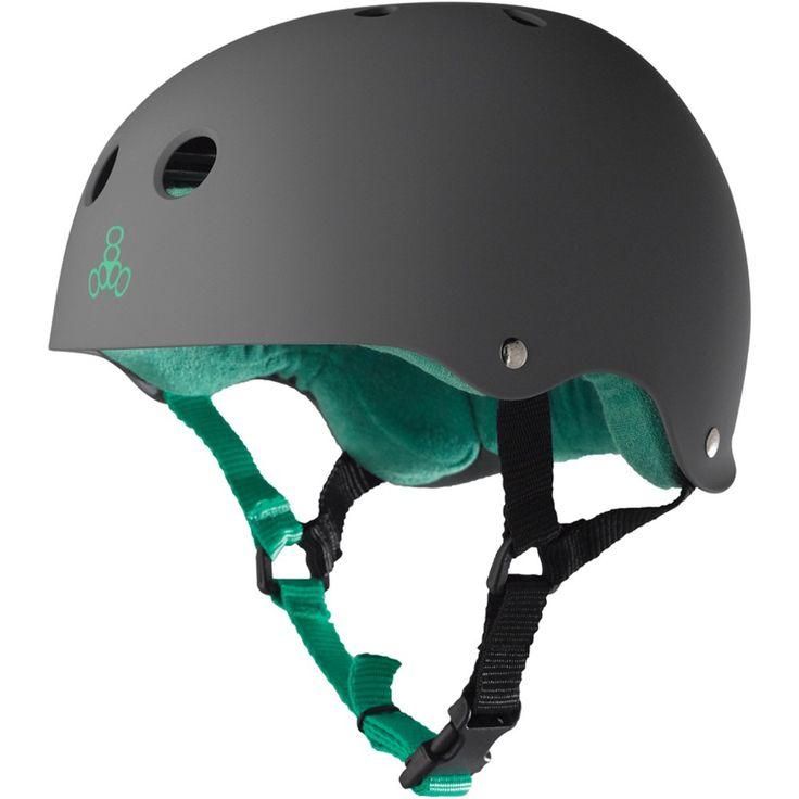 Triple Eight Brainsaver (Carbon Rubber) Skateboard Helmet