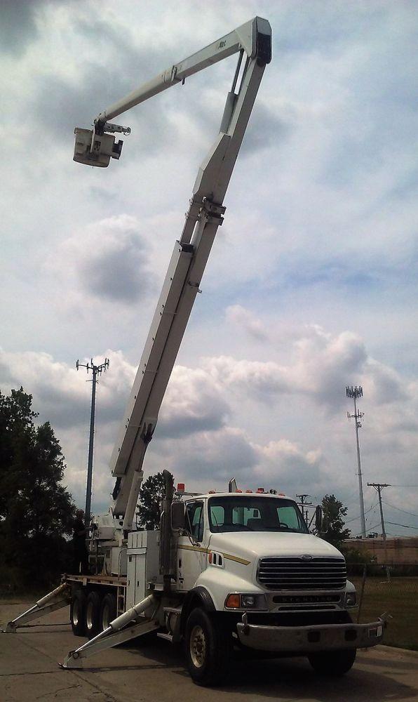 altec bucket trucks wiring diagrams genuine sterling lt9500 altec hl125 120 ft bucket truck boom  altec hl125 120 ft bucket truck