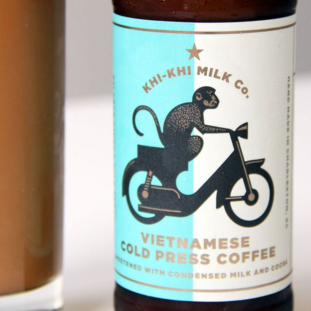 Khi-Khi Milk Co. Vietnamese Cold Press Coffee: A bottled version of the classic sweet drink, made with care in Charleston, SC