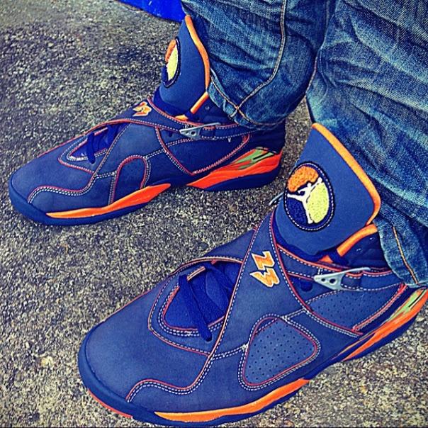 Air Jordan 8 (VIII) Retro LS – Pea Pods #jordan #sneakers #levis
