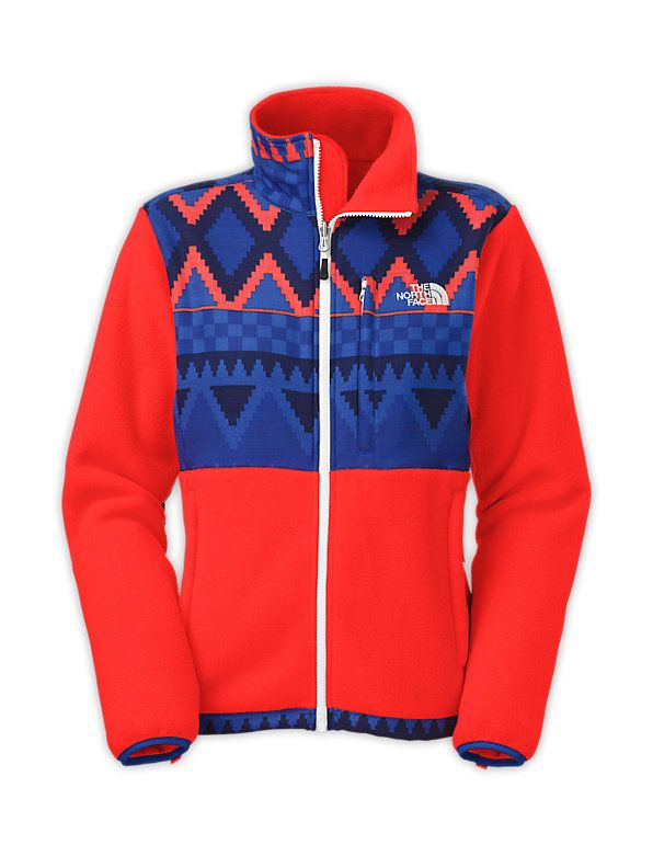 In the world of north face, this fleece jacket stands out and make a statement and I would certainly rock this!