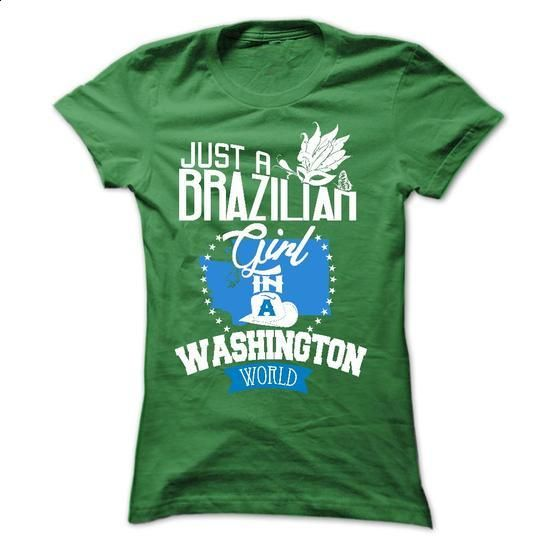 Brazilian girl in WASHINGTON - #Tshirt #black hoodie mens. ORDER HERE =>…