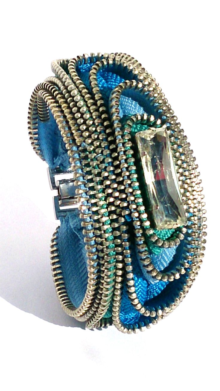 Space Rainbow Blue Zipper Cuff https://www.etsy.com/listing/256015640/space-rainbow-blue-cuff-bracelet?ref=shop_home_active_2