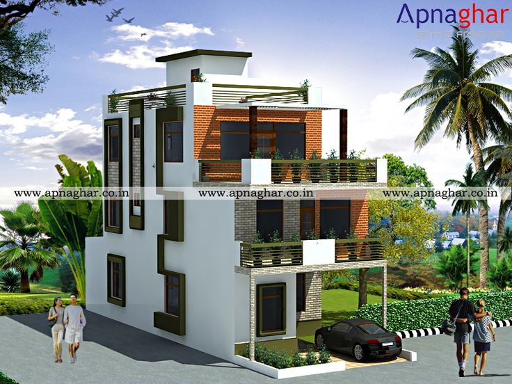 Exterior Elevation Design In