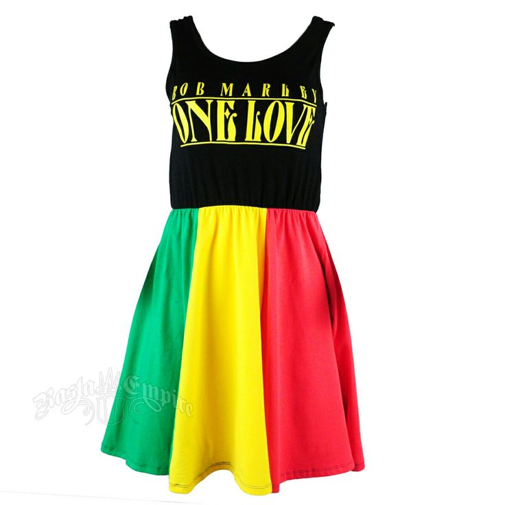 White reggae dress